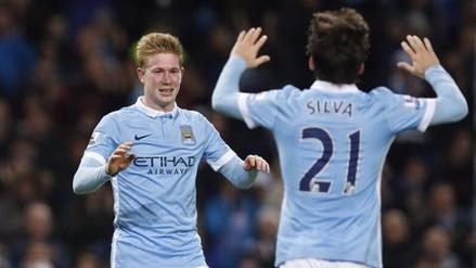 Manchester City goleó 4-1 al Sunderland con gran actuación de Kevin De Bruyne