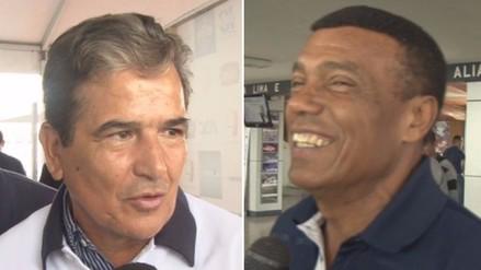 Alianza Lima: 'Nene' Cubillas y Jorge Luis Pinto emocionados por homenaje a Waldir
