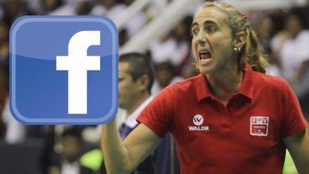 Facebook: Natalia Málaga molesta por 'trolleo' de su cuenta