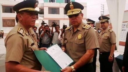 Trujillo: reconocen a policías que participaron en desarticulación de banda