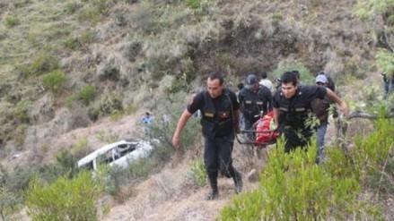 Sánchez Carrión: combi cae a un abismo y deja 7 pasajeros heridos