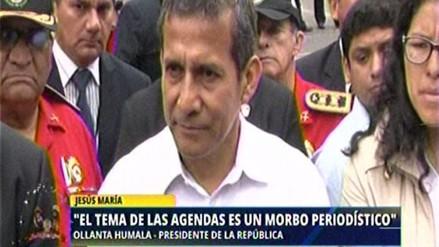 """Humala: """"Agendas deberían ser devueltas a su propietaria"""""""