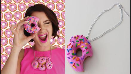 Esta diseñadora se inspiró en la comida para crear llamativos accesorios