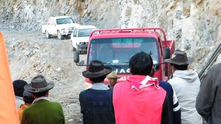 Huaral: pobladores preocupados por huayco registrado en Pacaraos