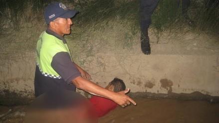 Huaral: rescatan a sujeto que fue víctima de peperas