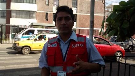 Diez inspectores de Sutran fueron agredidos por malos conductores