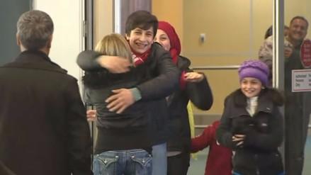 Familia de Aylan, símbolo de crisis de refugiados en Europa, llega a Canadá