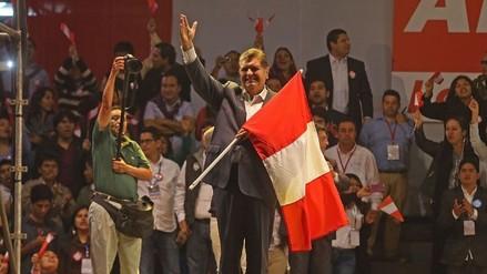 Alan García arribó a Chota en busca de votos