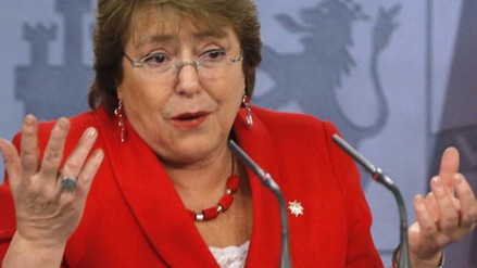 Michelle Bachelet admite que 2015 ha sido su