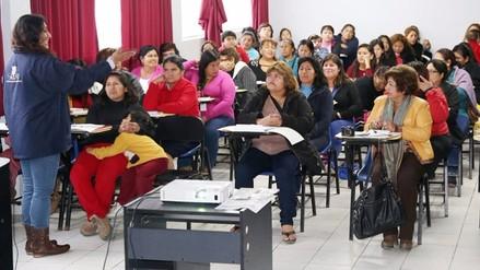 ONPE realizó talleres para promover participación de mujeres en política
