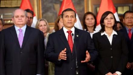 Presidente Humala hizo balance de su gestión en mensaje a los peruanos