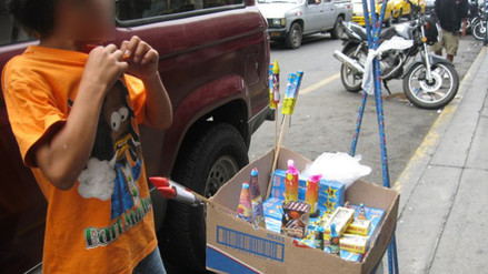Mesa Redonda: usan a menores de edad para vender productos pirotécnicos