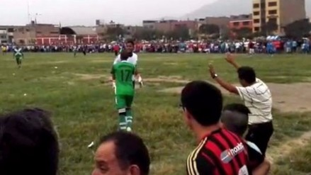 YouTube: Juan 'Chiquito' Flores protagonizó gresca en Liga de Comas