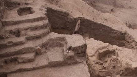 Descubren templo ceremonial en complejo arqueológico La Inmaculada