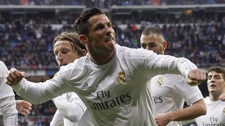 Real Madrid ganó 3-1 a Real Sociedad con Cristiano que erró un penal
