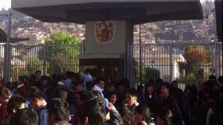 Quillabamba: pobladores rechazan reducción de presupuesto para la UNSAAC