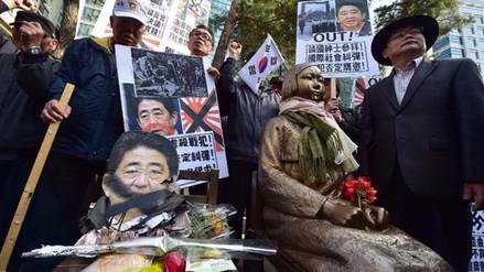 Tokio romperá su pacto con Seúl si no se retira estatua de esclava sexual