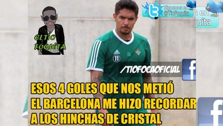 Facebook: Juan Vargas es protagonista en memes de la victoria del Barcelona