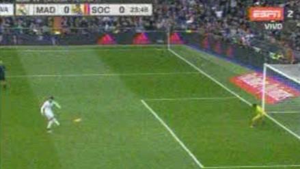 Real Madrid vs. Real Sociedad: Cristiano desperdició de manera clamorosa un penal (VIDEO)