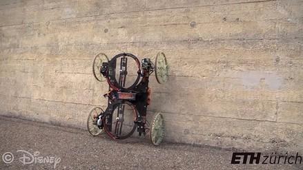VertiGo, el robot que se desplaza por las paredes