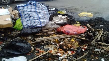 Ate: reportan constante quema de basura