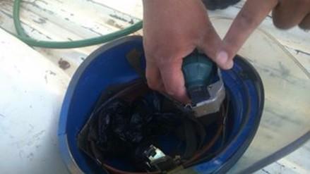 Personal de limpieza encontró granadas en el Parque de la Cultura
