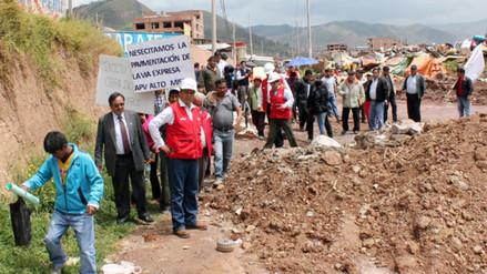 Expropiarán terrenos para impulsar pavimentación de la vía Expresa