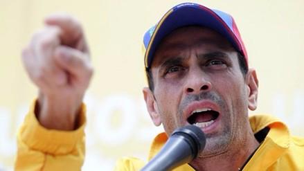 Partido de Capriles llama a FFAA proteger Legislativo que se instala en enero