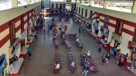 Chimbote: afluencia de público en el terminal aumenta en 70%