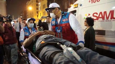 Minsa atendió más de 20 000 emergencias durante fiestas de fin de año