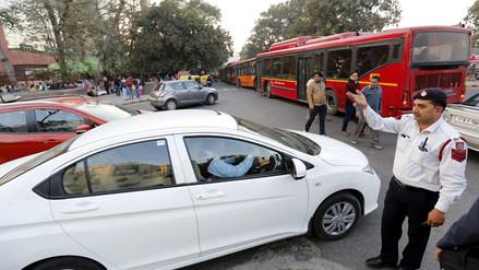 Nueva Delhi: restricción vehicular por extrema contaminación