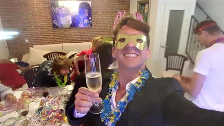 Facebook: así recibió el Año Nuevo la farándula nacional
