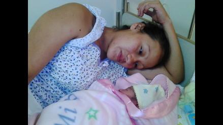 Irana es el nombre de la primera bebé piurana nacida en el 2016
