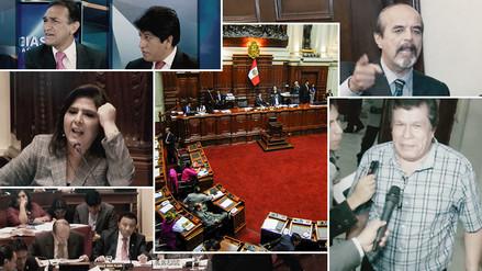 Ocurrió 2015: Congreso, fuego cruzado│RPP