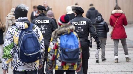 Policía alemana busca a sospechosos de planear posible atentado en Múnich