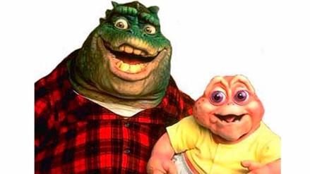 """""""Dinosaurios"""", mira el detrás de cámaras de la recordada serie"""