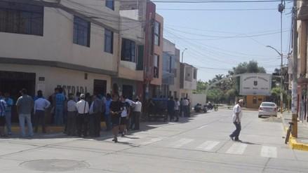 Tensión en la Universidad Pedro Ruiz Gallo por ingreso de nuevo rector