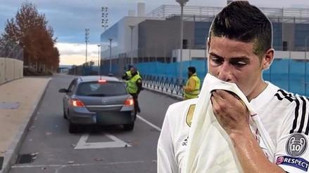 YouTube: James Rodríguez y los gritos que recibió por parte de la Policía (VIDEO)