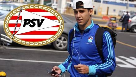 Beto Da Silva reveló que ya firmó con el PSV Eindhoven de Holanda por tres años