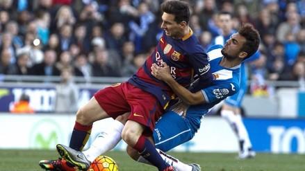 Barcelona igualó sin goles ante el Espanyol en el derbi catalán