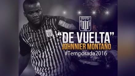 Alianza Lima: Johnnier Montaño fue oficializado como nuevo refuerzo