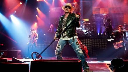 Axl Rose hablará sobre reunión con Slash en show de Jimmy Kimmel