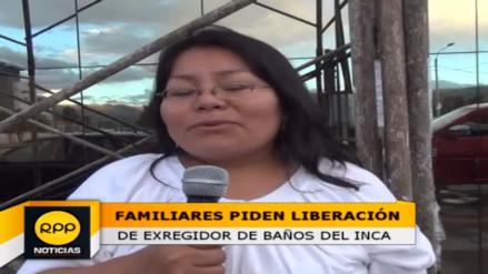 Familiares preocupados tras detención de dirigente de Baños del Inca