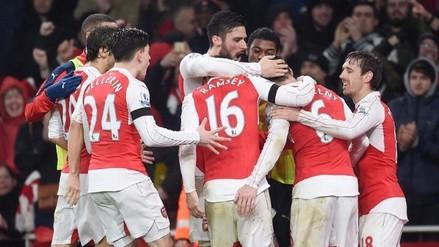 Arsenal ganó 1-0 al Newcastle y es único líder de la Premier League
