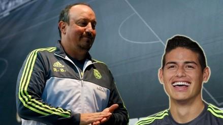 Real Madrid: James Rodríguez sin líos con Rafa Benítez tras incidente con la policía