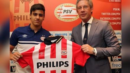 Beto Da Silva fue presentado como nuevo jugador del PSV Eindhoven