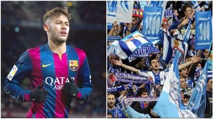 Barcelona: así fueron los gritos racistas a Neymar en partido ante Espanyol (VIDEO)