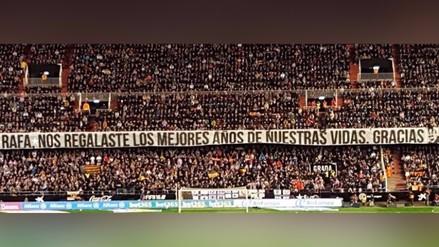 Valencia vs. Real Madrid: Rafa Benítez recibió emotivo gesto de gratitud