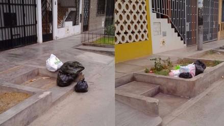 SMP: denuncian falta de recojo de basura