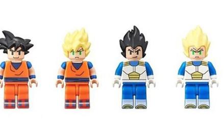 Dragon Ball Z tiene minifiguras de LEGO